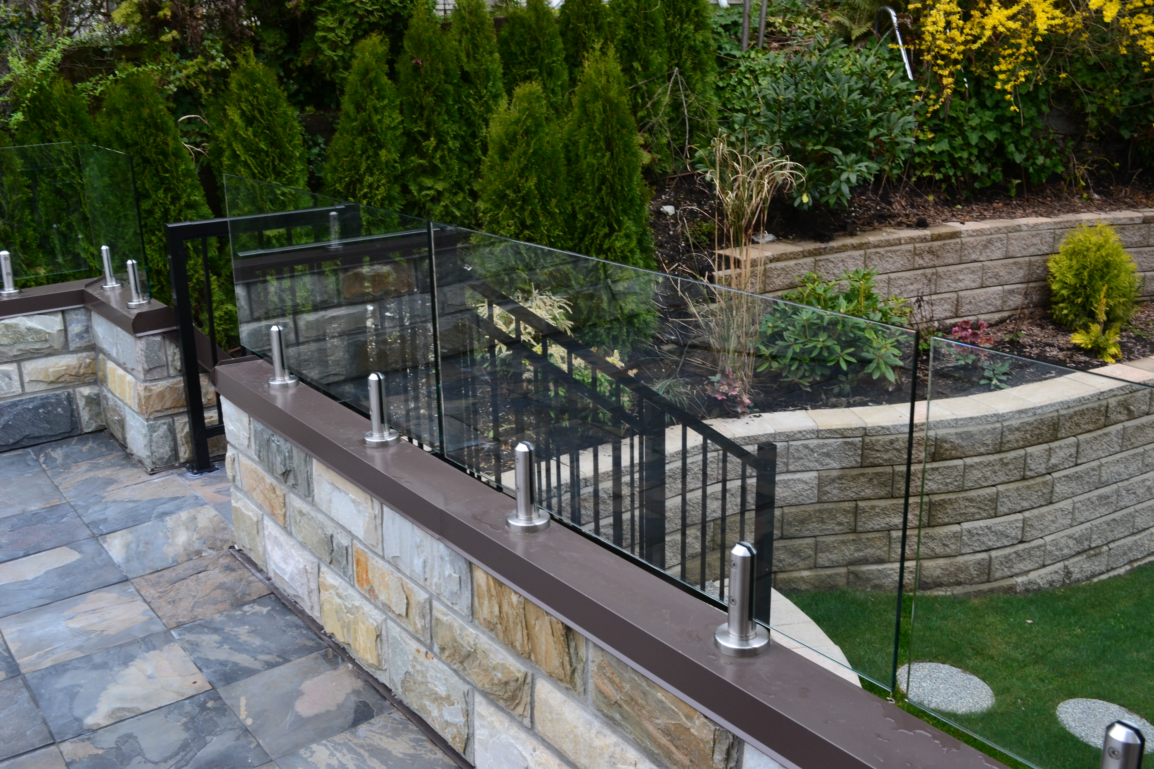 Exterior Railings Windscreens Kristy Glass Corporation